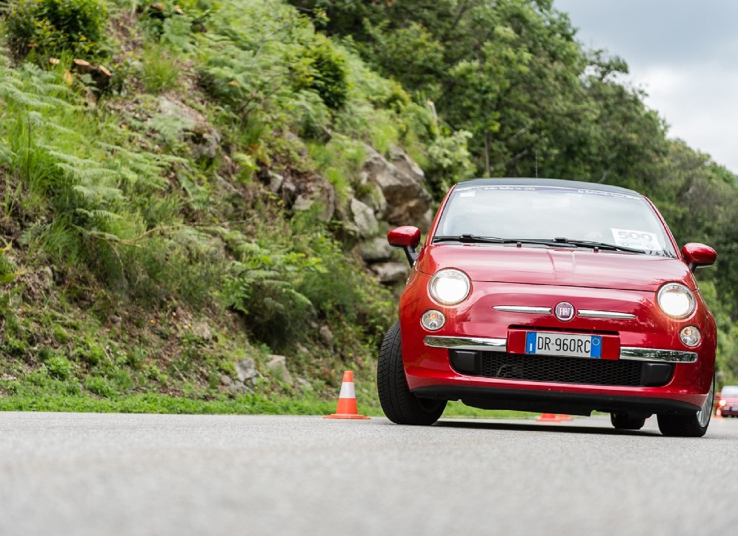 Rally tour on lake maggiore